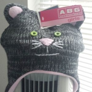 Other - Kitty Hat with Ears and Face Whiskers Girls O/S